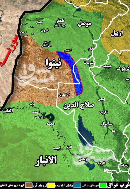 نتایج آخرین مرحله عملیات پاکسازی عراق از لوث تروریستهای داعش به روایت آمار + نقشه میدانی و تصاویر