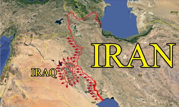 فاصله داعش با مرز ایران