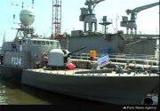 شناور موشک انداز «سپر» در دریای خزر به ناوگان دریایی ارتش ملحق شد +عکس