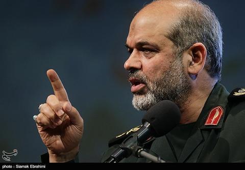 سردار وحیدی: دشمنان هیچگاه نمیتوانند خللی به قدرت موشکی ایران وارد کنند