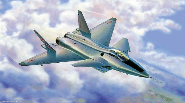 جنگنده ناکام نسل پنجم روسیه MIG-1/44 Flatpack