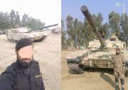 عکس/ آزمایش تانک جدید در پاکستان