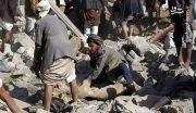 جنایت ائتلاف سعودی در یمن