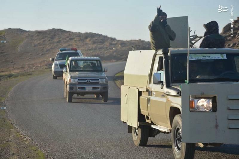 پیشروی نیروهای عراقی در منطقه