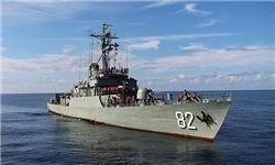 پهلو گرفتن ۳ ناو جنگی ایرانی در سریلانکا