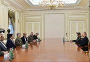دیدار وزیر دفاع با رییس جمهور آذربایجان+عکس