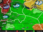 حملات سنگین تروریست ها به دروازه غربی شهر سلمیه/ تلاش برای برهم زدن مسیر ارتباطی دمشق – حلب ناکام ماند +نقشه میدانی