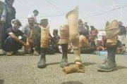 اعتصاب مجروحان سعودی جنگ یمن +عکس