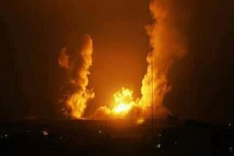 جنگندههای اسرائیلی نوار غزه را بمباران کردند