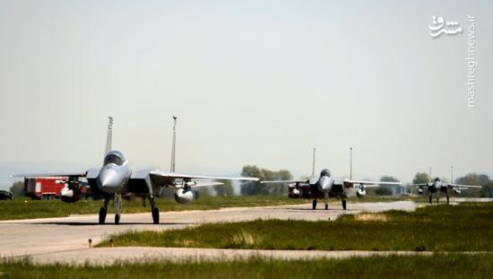 سقوط جنگنده «اف-۱۵» در کره جنوبی
