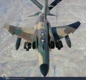 اورهال یک فروند جنگنده اف ۴ در تهران