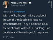 واکنش تحلیلگر آمریکایی به تهدید مقام سعودی علیه ایران