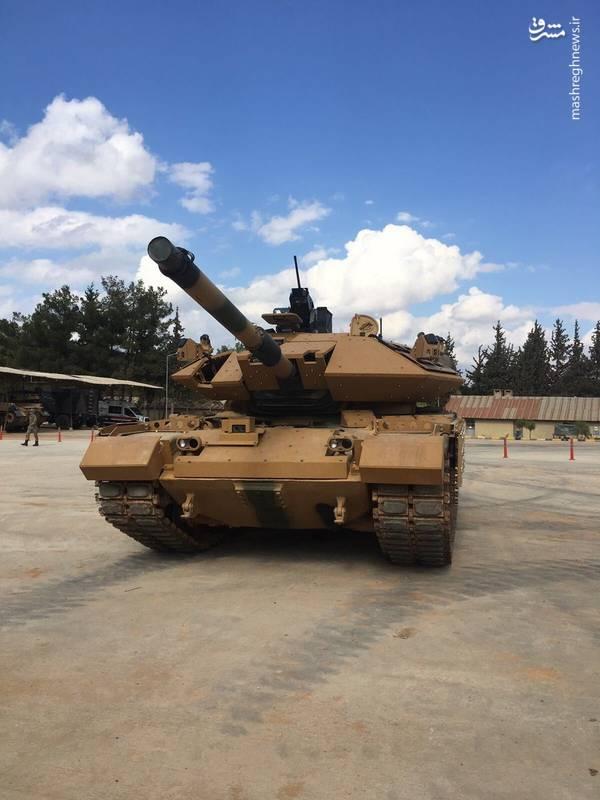 عکس/ عبرت ارتش ترکیه از نبرد در سوریه