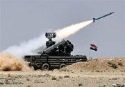 جزئیات جدید از مقابله پدافند هوایی سوریه با حمله موشکی