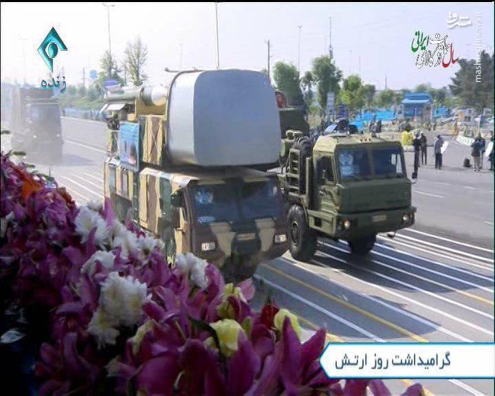 پرواز بالگردهای باز آماد شده در رژه روز ارتش/ حضور سامانه طبس در کنار اس ۳۰۰+عکس