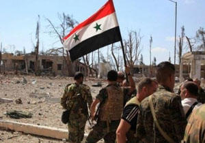 از سرگریری عملیات ضد تروریستها در جنوب دمشق