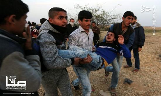 استقرار گسترده نظامیان اسرائیل در مرز غزه