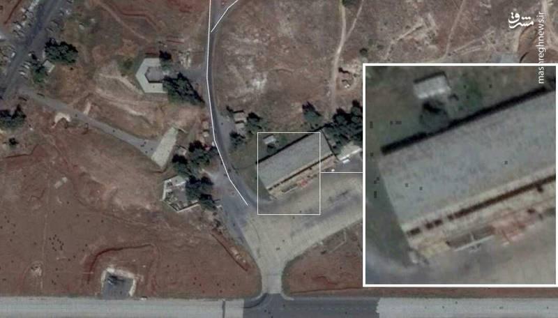 جزئیاتی از حملات شب گذشته به پایگاه های نظامی در حلب و حماه/ ردپای جنگندههای F۳۵ اسراییلی در تجاوز به سوریه + تصاویر و نقشه میدانی