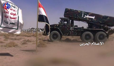 شلیک موشک بدر به سمت شهرک جیزان توسط یمنیها