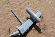 انهدام پهپاد جاسوسی عربستان در غرب یمن +عکس