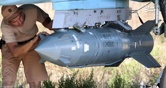 بمب ویرانگر «کاب ۱۵۰۰» برای کوبیدن تروریستها رسید
