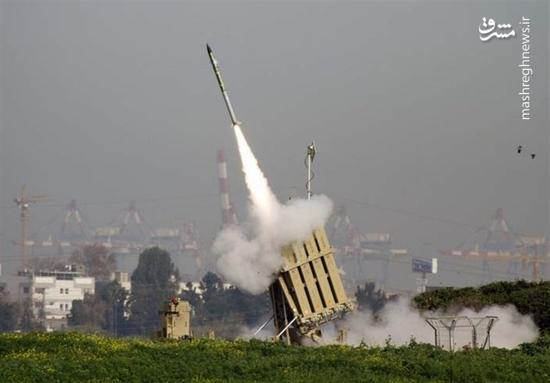 استقرار سامانه گنبد آهنین در مرز غزه