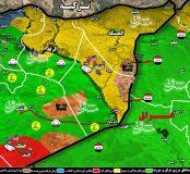 آغاز عملیات شبه نظامیان کُرد برای پاکسازی جنوب استان حسکه + نقشه میدانی