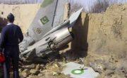 سقوط جنگنده در پیشاور پاکستان با ۲ کشته