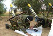 مواضع نظامی اسرائیل موشکباران شد