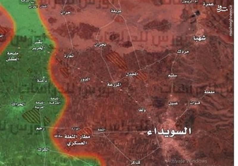 عملیات جنوب سوریه و تهدید مشترک منافع آمریکا و اسرائیل