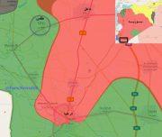 ۸۰ درصد ریف شرقی «درعا» پاکسازی شد