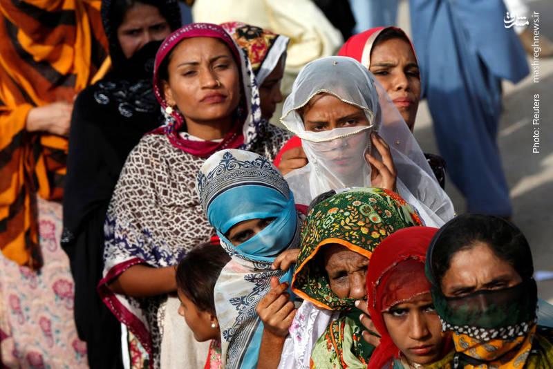 حامیان زرداری، دبیر کل حزب خلق پاکستان در میتینگ وی در آستانه انتخابات سراسری این کشور