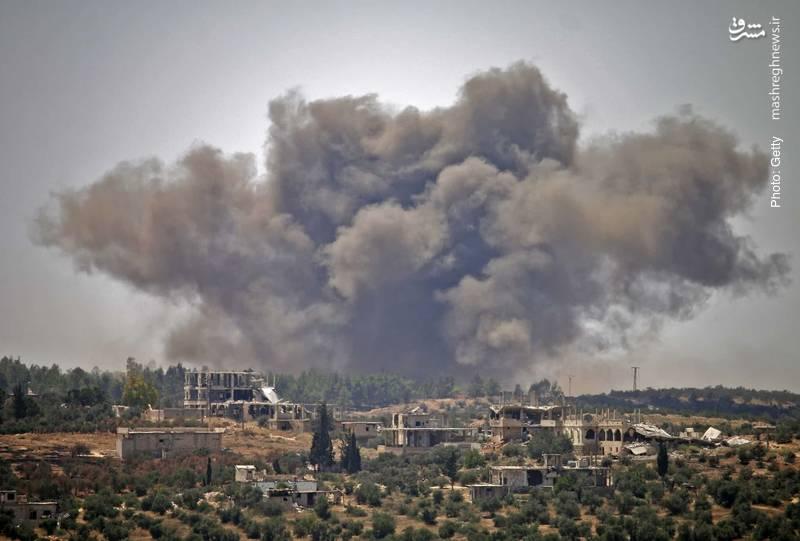 درگیری ارتش سوریه در درعا