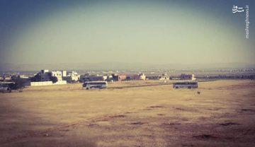 شهروندان شهرکهای الفوعه و کفریا پس از ۴ سال محاصره در آستانه آزادی/ ورود ۶۰ اتوبوس به شهرکهای محاصرهشده الفوعه و کفریا + عکس