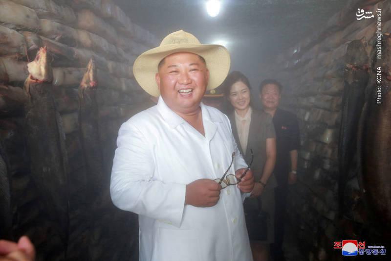 بازدید کیم جونگ اون از مرکز پرورش گربهماهی