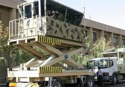 ساخت ایران| برج مراقبت سیار + عکس