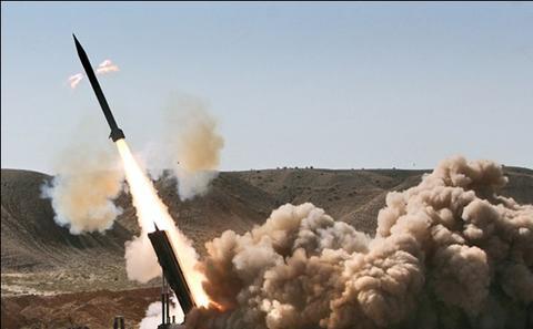 شلیک موشک «زلزال-۱» به سمت شبهنظامیان سعودی