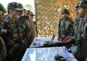 بازدید فرمانده کل ارتش از تیپ ۳۱۶ زرهی همدان