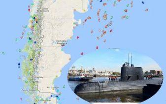 بقایای زیردریایی مفقود شده آرژانتین کشف شد