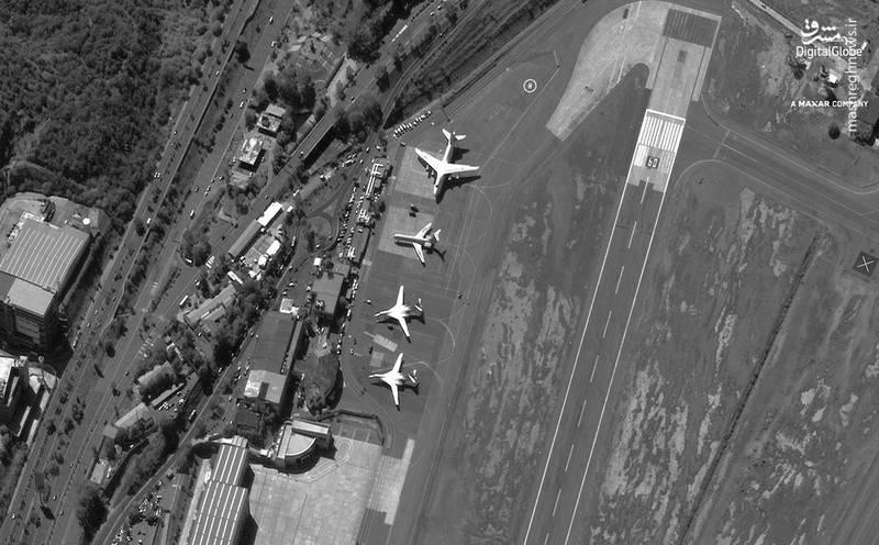 عکس/ حضور بمب افکن های روسی در ونزوئلا