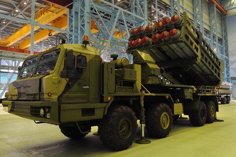 روسیه سامانه S-350 را امسال مستقر می کند
