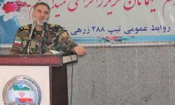 بازدید فرمانده نزاجا از تیپ ۲۸۸ زرهی