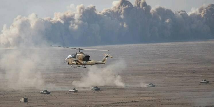 جنگنده های نهاجا به کمک نزاجا آمدند / اجرای دیوار آتش ۶ کیلومتری توسط مهندسان ارتش