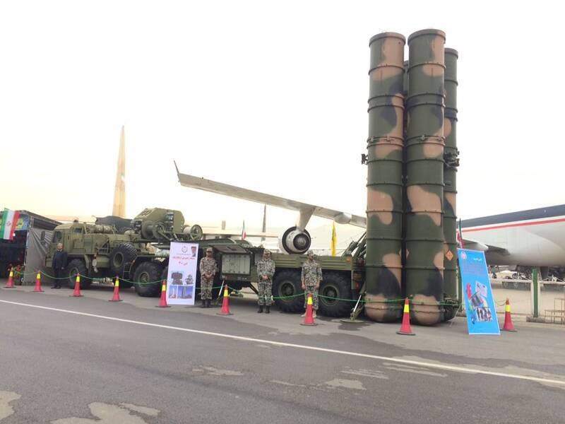 سامانه پدافندی اس-٣٠٠ به نمایش درآمد +عکس