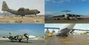 پنج فروند هواپیمای ترابری سنگین و شکاری بازآماد شد