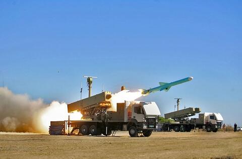 برد موشکهای ساحل به دریای ارتش افزایش مییابد