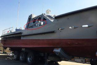 نیروی دریایی سپاه به شناور موشک انداز جدید با سرعت ۸۰ کیلومتر مجهز شد