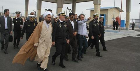 افتتاح پروژه های رفاهی ارتش در جاسک