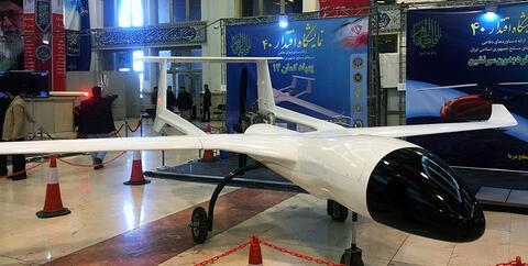 خط تولید پهپاد کمان-۱۲ افتتاح شد