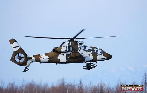 بالگرد نینجا کاوازاکی Kawasaki OH-1 Ninja ساخت ژاپن